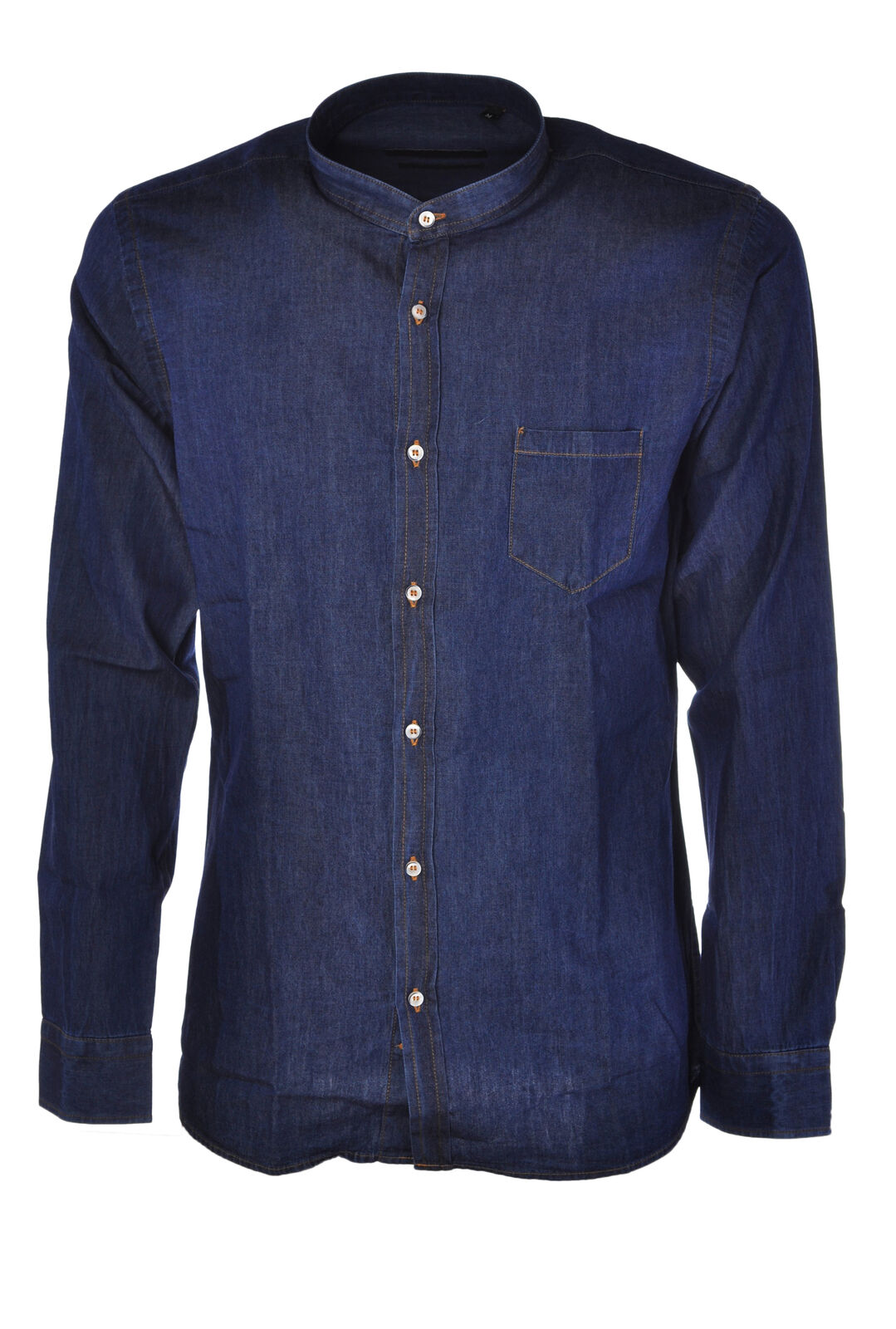 Laboratori Italiani  -  Shirts - Male - Denim - 3436320A185204