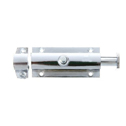 2PCS Home Door Security Guard Latch Bolt Gate Lock Spring Loaded