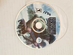 Metal-Of-Honor-Allied-Assault-Computer-PC-Video-Game-DISC-2-EA-Games