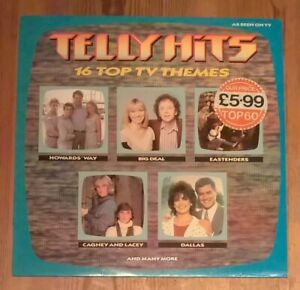 Various-Telly-Hits-Vinyl-LP-33rpm-Compilation-1985-BBC-BBSR-508