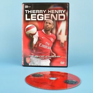 Thierry-Henry-Legend-iTV-DVD-Arsenal-Soccer-Football-REGION-FREE