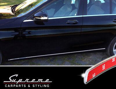 C Class 4 puertas - Rejilla de puerta lateral de acero inoxidable cromado W205