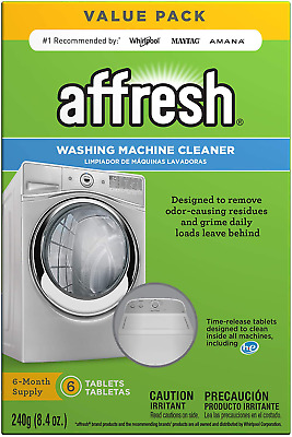 Affresh Finally Fresh Washing Machine Cleaner 6 Tablets ...
