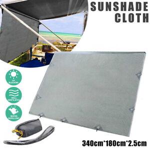 3.4Mx1.8M Caravan Privacy Screen End Wall Side Sun Shade ...