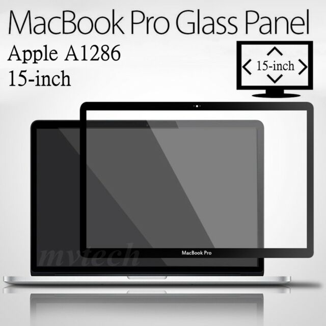 """15/"""" 15.4/"""" MacBook Pro Unibody LCD Screen Glass Cover A1286 For 2009 2010 2011"""