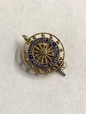 14k Yellow Gold Daughters of the American Revolution Pin DAR