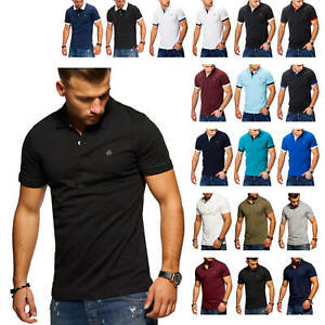 Jack-amp-Jones-Hommes-Poloshirt-Polo-T-Shirt-Shirt-Basic-Chic-Soldes