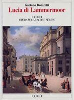 Lucia Di Lammermoor Vocal Score 050489277