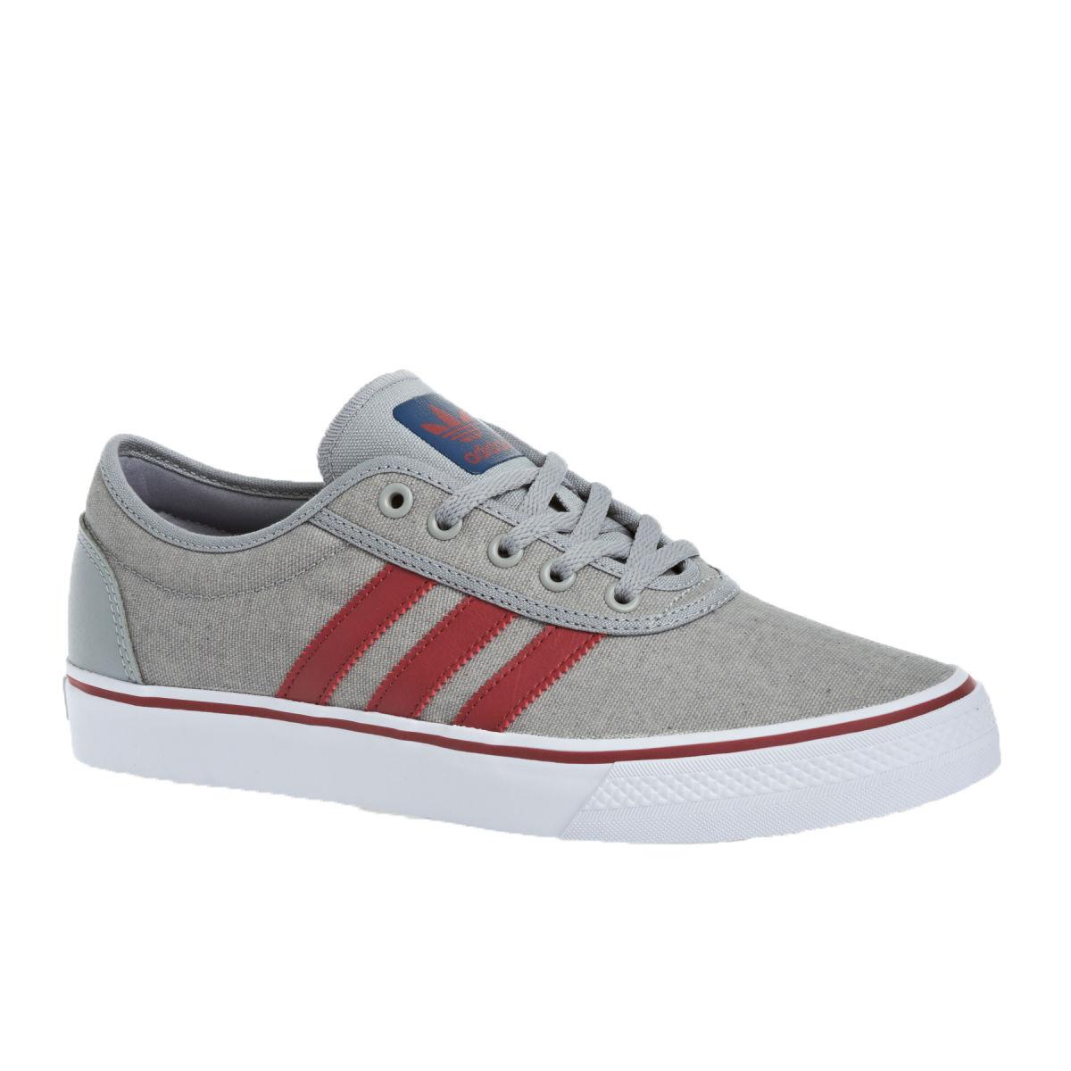 Adidas dga - met met met in pietra grigia con lo skateboard g98101 nomade rosso (237) scarpe da uomo 726b1c