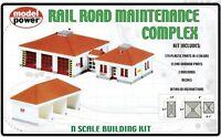 Model Power N #1584 Rail Road Maintenance Complex Model Kit New In Original Box Toys