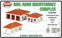 Model Power N #1584 Rail Road Maintenance Complex Model Kit New In Original Box Toys