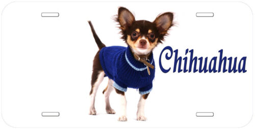 Chihuahua Dog Any Name Personalized Novelty Car Auto License Plate A1