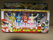 bandai POWER RANGERS FIGURE SET 1991 MIB  ages 8-80