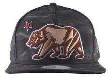 Dissizit! Camo New Era CRVS California Republic Bear Snapback Baseball Hat NWT