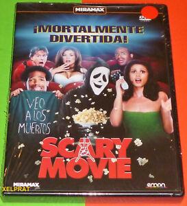 SCARY-MOVIE-Keenen-Ivory-Wayans-DVD-R2-English-Espanol-Precintada