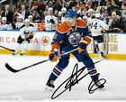 Edmonton Oilers Adam Larsson Autographed Signed 8x10 Photo COA E