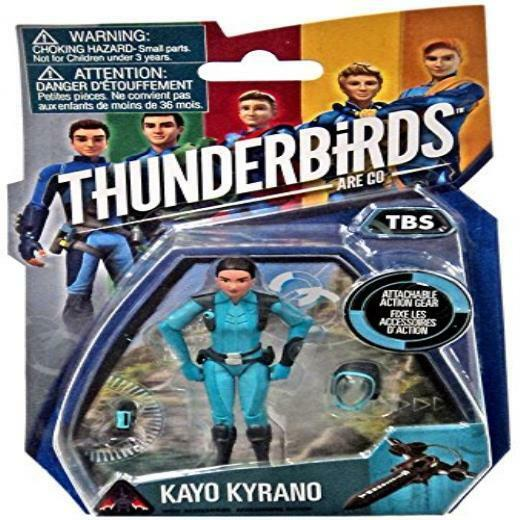 Thunderbirds Are Go Kayo Kyrano 3.75 Action Figure Tbs Toy Play Kids Game New