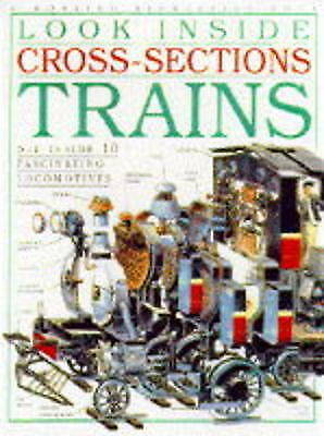 Trains (Look Inside Cross-sections), , Very Good Book