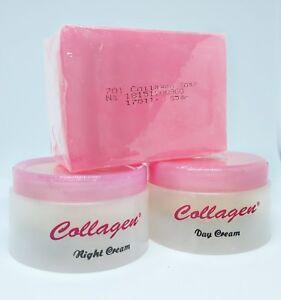 Image Is Loading Cream Collagen Plus Whitening Day Amp Night