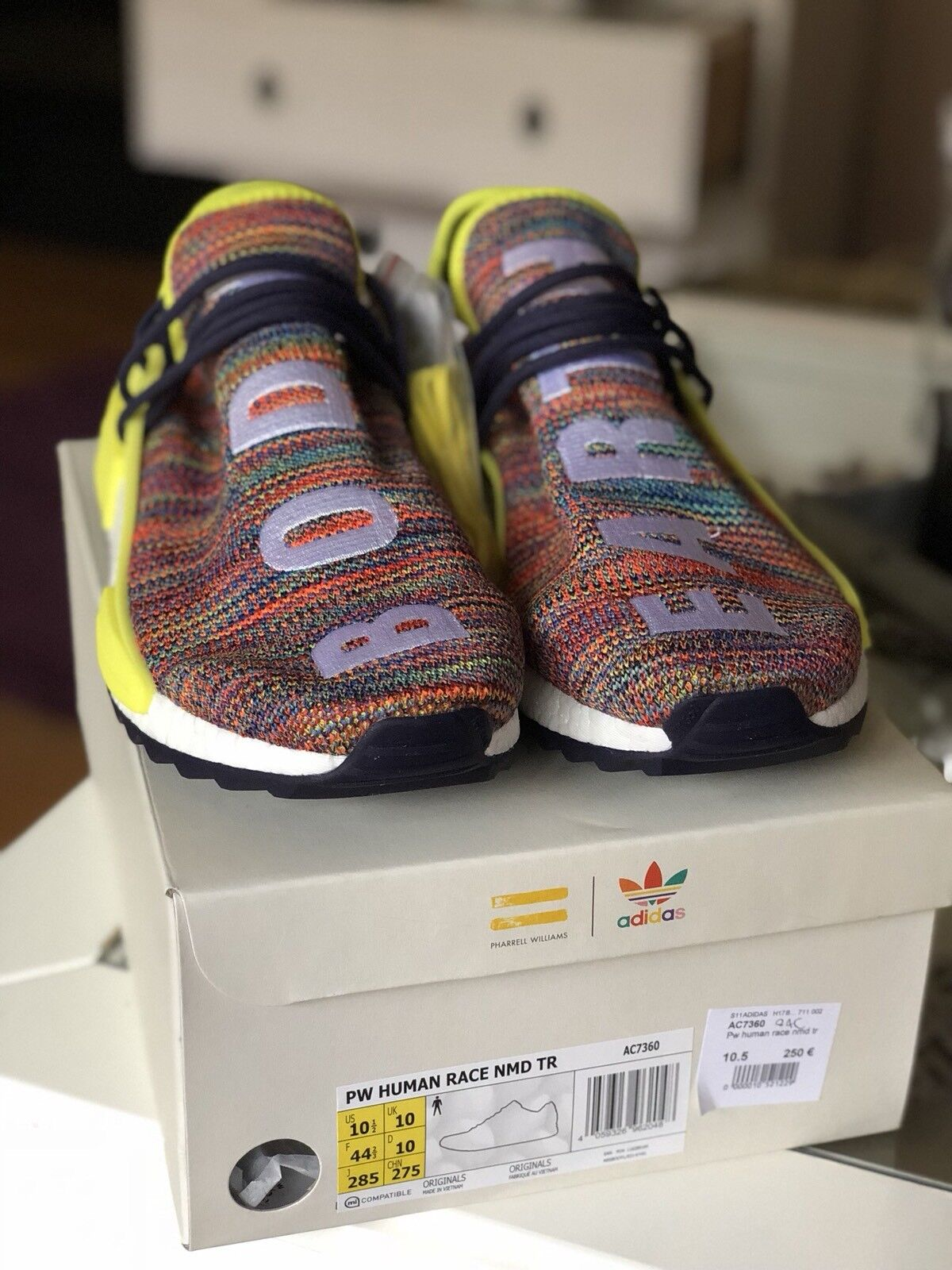 Human Race Nmd Trail MULTICOLOR
