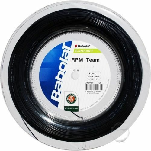 Babolat RPM Team Tennis Racket StRing --200m Reel --1.30mm --BRAND NIEUW --SALE
