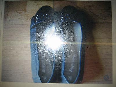 Supremo Halbschuhe Ballerinas Mokassins schwarz Größe 37
