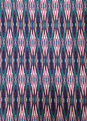 Dark Tribal Stripes Pattern Stretch Knit Jersey Polyester Rayon Spandex Fabric