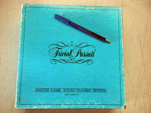 SEE CHOICES Genuis Used Trivial Pursuit MasterSet Young adult