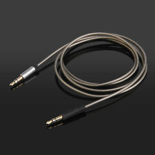 Replacement Upgrade Sliver Audio Cable For Beyerdynamic Custom one pro Headphone