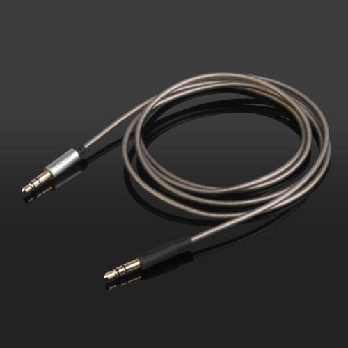 Silver Plated Audio Cable For Nuforce HP-800 Jabra Revo Creative Sound Blaster