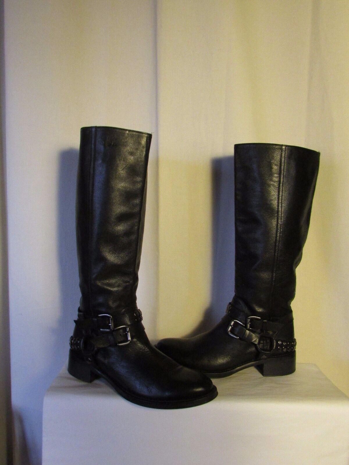 botas de equitación STRATEGIA cuero negro 40
