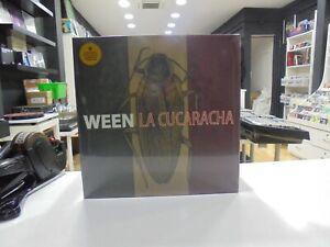 Ween-LP-Europa-Cd-La-Cucaracha-2019-Klappcover-Limitierte-Brown-Vinyl