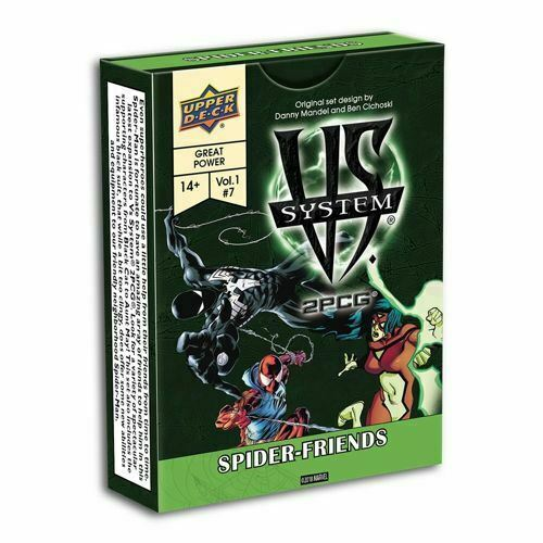 VS SYSTEM SPIDER-FRIENDS CARD GAME