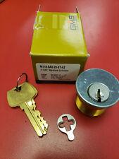 Gms Mortise Cylinder 1 18 Sargent La Chrome Set Of 2 Keyed Alike