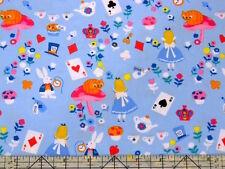 Timeless Treasures Alice In Wonderland Fabric