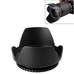 58mm-Lens-Hood-Screw-Mount-Petal-Crown-Flower-Shape-for-Canon-Nikon-Sony-Pentax