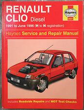 Haynes Manuale Officina RENAULT CLIO (DIESEL) dal 1991 al 1996.
