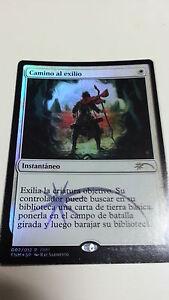 MTG-MAGIC-1x-CAMINO-AL-EXILIO-PATH-TO-EXILE-PROMO-FOIL-ESPANOL