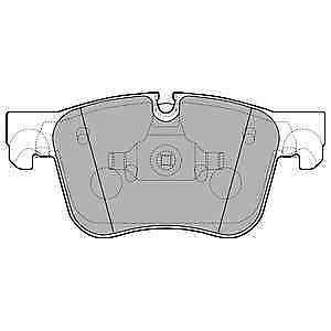 GENUINE BRAND NEW Delphi Front Brake Pad Set LP2690 5 YEAR WARRANTY