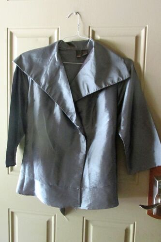 Sere Nade Formal Holiday Dress Jacket Large Shimme