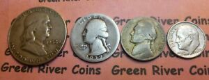 Type Coin Collection  Classic Old U.S. Coin 90% Silver  US Coins #TCC