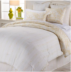 Anna Griffin Olivia 100% Cotton 2piece Duvet Cover Set, Ivory Cream , Twin