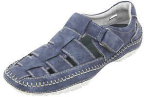 GBX-Men-039-s-Sentaur-Denim-Fisherman-Sandals-Shoes-Sz-12