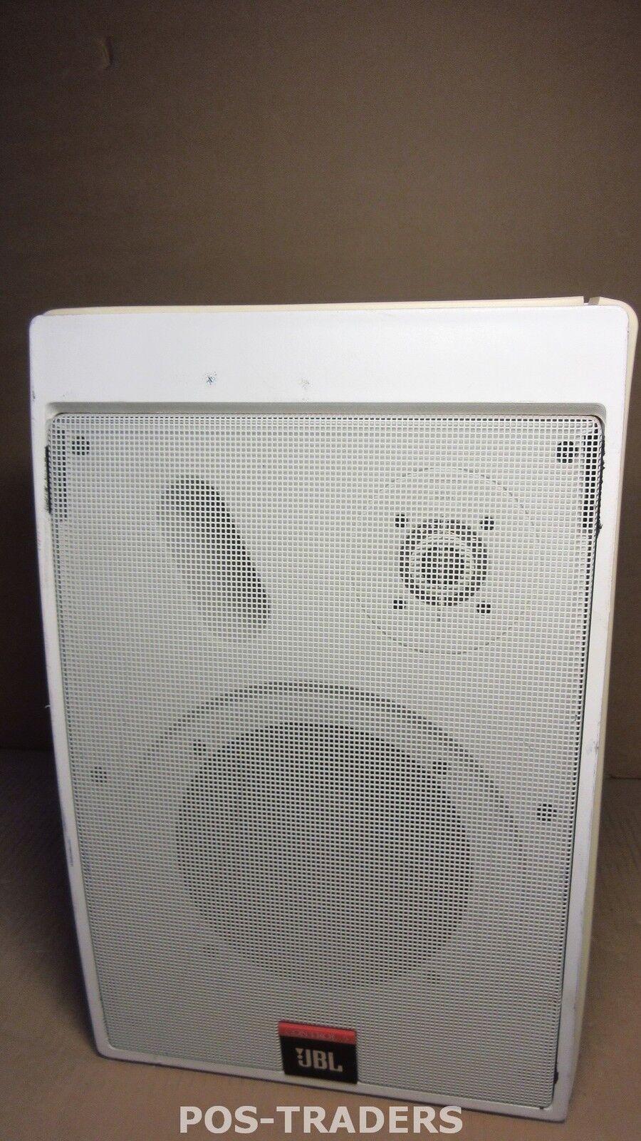 JBL CONTROL 28 Professional Loudspeaker 6.5  2-way 175W Weiß Weiss Speaker