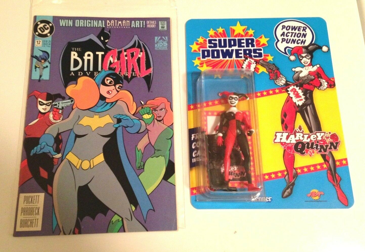 Super Powers Harley Quinn Custom Toy + Batman Adventures First Appearance