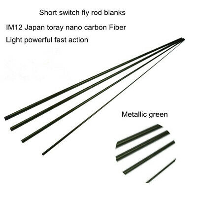 Aventik Short Switch IM12 Japan Toray Nano Carbon Fly Rod Blanks Fast Action NEW