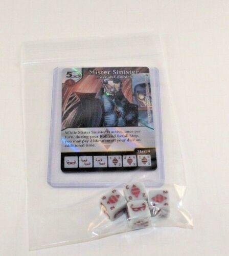 Dice Masters Deadpool RARE Uncommon Set FOIL CUR 4 dice FREE CHIMICHANGAS