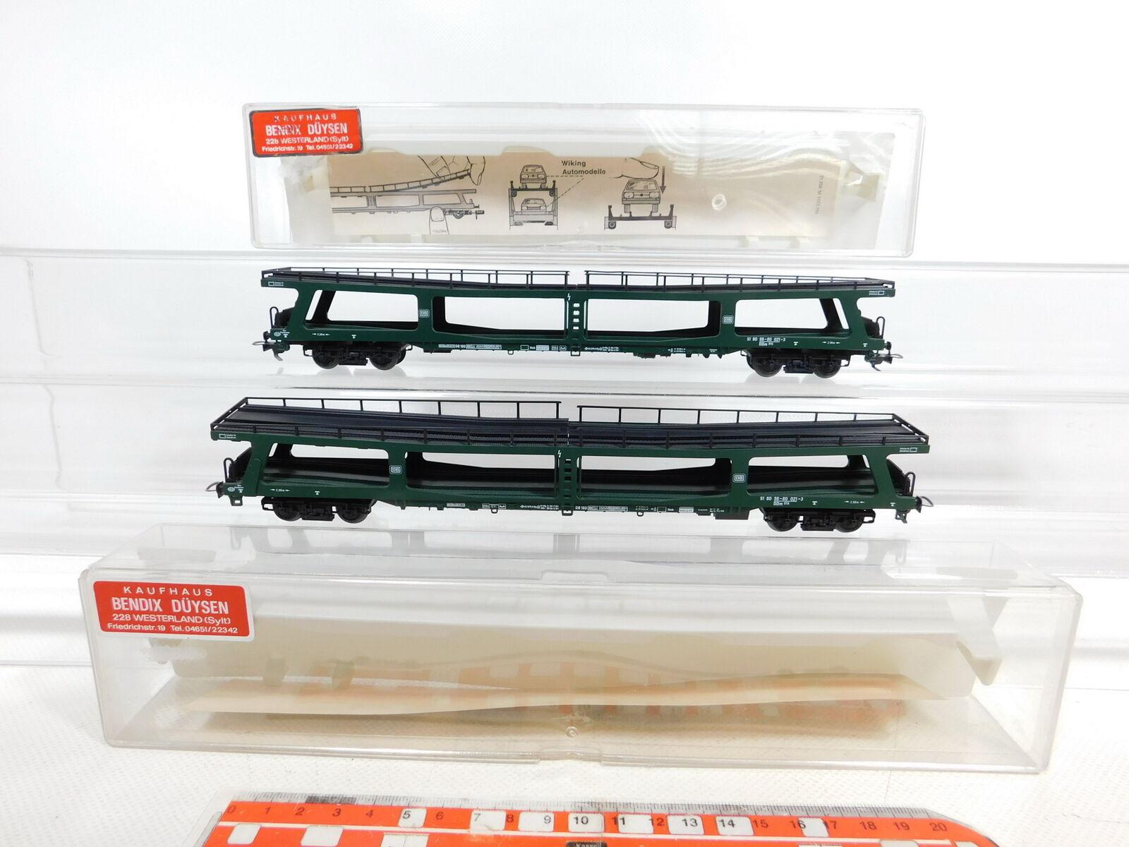 CE7681 2x fleischuomon H0AC 5284 Autoreisezugwagen DB per marklin 3L; Sg scatola