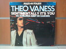 "THEO VANESS sentimentally it's you 12"" MAXI 45T"