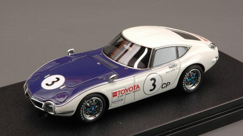 Toyota 2000gt SCCA 1968 1 43 Model HPI RACING